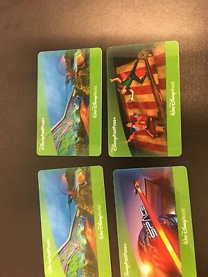 FOUR 41 day Park Hopper passes Walt Disney World Florida
