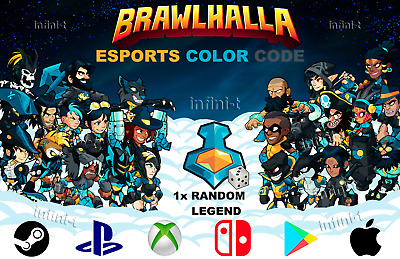 Brawlhalla - Community Colors - All Platforms