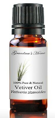 Vetiver Essential Oil - 5 mL - 100 Pure and Natural - Free Shipping - US Seller