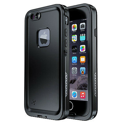 For Apple iPhone 7 8 Plus Waterproof Shockproof Case FRE with Screen Protector