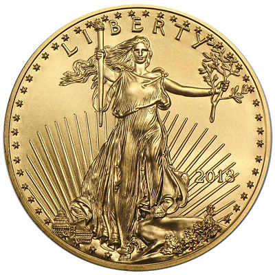 Daily Deal - 2018 10 American Gold Eagle 14 oz Brilliant Uncirculated