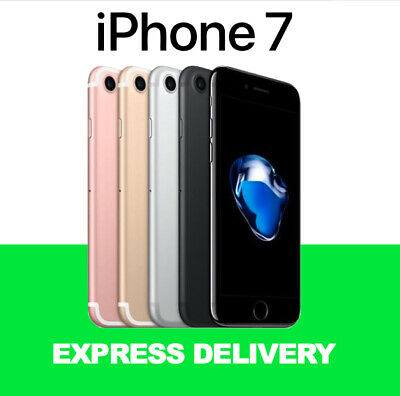 NEW APPLE BOX iPhone 7 32GB 128GB 256GB Unlocked Smartphone