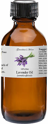 Lavender Essential Oil - 4 oz - 100 Pure and Natural - Free Shipping