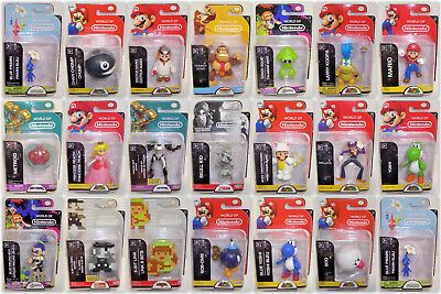 World of Nintendo 2-5 inch Action Figures Sealed - YOUR CHOICE - Jakks Pacific