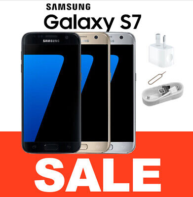 AS NEW SAMSUNG Galaxy S7 32GB SMG930 Unlocked Smartphone FROM MEL