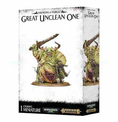 Nurgle Chaos Deamons Great Unclean One Preorder Ships 1122018
