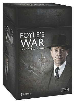 Foyles War The Complete Saga 1-8 DVD 2015 Season 1 2 3 4 5 6 7 8 Foyles