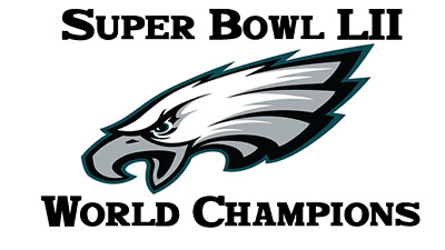 60 Personalized Philadelphia Eagles Super Bowl LII Champs Return Address Labels