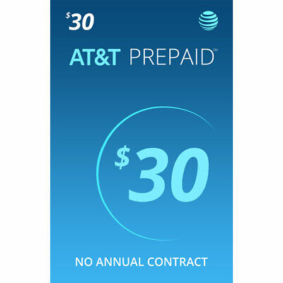 AT-T 30 Prepaid Sim card With 1 Month Service Included