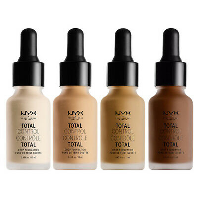 NYX Total Control Drop Foundation or Primer  You Choose