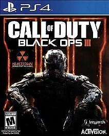 PlayStation 4  Call of Duty Black Ops III - Standard E VideoGames