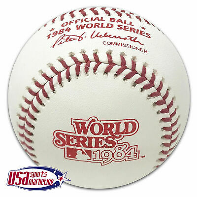 Rawlings 1984 World Series Official MLB Game Baseball Detroit Tigers - Boxed