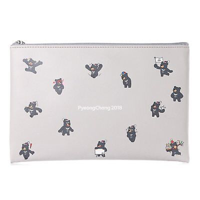 KOREA 2018 Pyeongchang Winter Olympics Paralympic multi Pouch Cosmetic pouch
