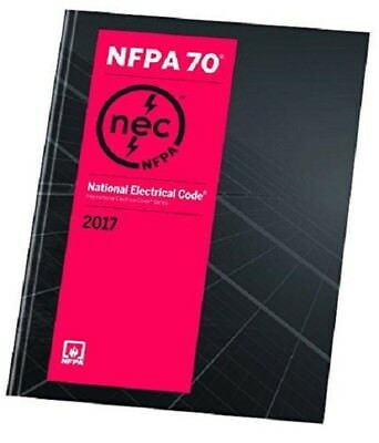NFPA 70 National Electrical Code 2017 1st Ed- USED like NEW EDITION- PAPERBACK
