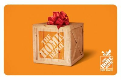 100 Home Depot Gift Card Free Shipping