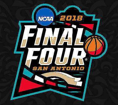 1 Ticket Sec- 318 Row 10 2018 NCAA Mens Final Four 331 - 42 All Sessions