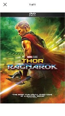 Thor Ragnarok DVD 2018 -Chris Hemsworth- New - Sealed FREE Shipping