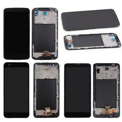 OEM LG Stylo 2 3  3 Plus Complete Digitizer LCD Touch Screen Replacement -Frame