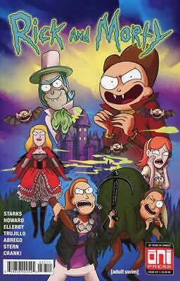 RICK AND MORTY 37 ELLERBY COVER ONI PRESS ADULT SWIM PICKLE RICK PREORDER