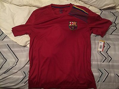 fc barcelona FCB Training Shirt Mens L