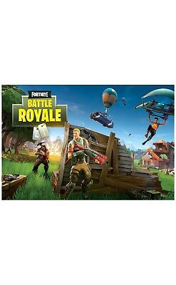 Poster Fortnite Battle Royale Game 24x36 inches NEW