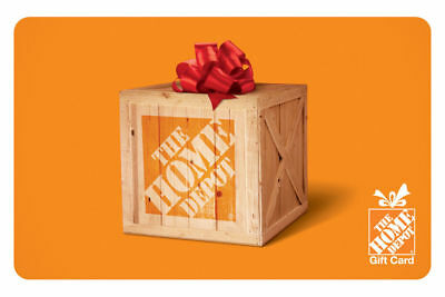 500 The Home Depot Gift Card - Mail Delivery 1 gift card per customer