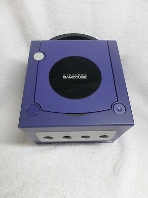 Nintendo Game Cube Purple DOL-001 System Only Gamecube Console Tested