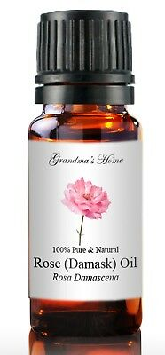Rose Essential Oil - 10 mL - 100 Pure and Natural - Free Shipping - US Seller