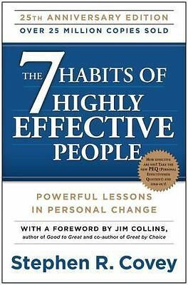 NEW The 7 Habits of Highly Effective People Powerful Lessons in Personal Change