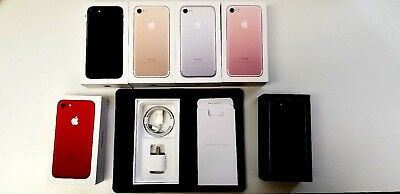 Apple iPhone 7 7- Plus Original Retail Box with OEM Accessories Manual Included