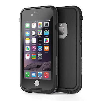 For Apple iPhone 6s 6 Plus Waterproof Case Cover w Built-in Screen Protector