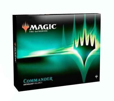 MTG Magic Commander Anthology 2018 Volume 2 set Sealed 4 Decks Box dominaria
