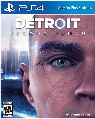 Ps4 Detroit Become Human PlayStation 4 BRAND NEW