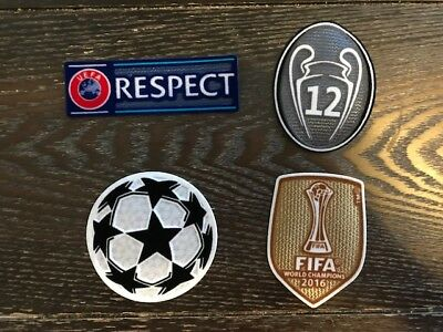 UEFA Champions League - FIFA patches kit Ronaldo Bale Real Madrid jerseys