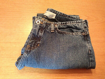 Womens Hollister Co- Size 4 S Small 100  Cotton Flare Blue Jeans Inseam 29