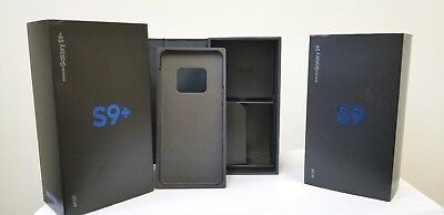 Samsung Galaxy S9 S9 Plus Original Box Only with Sleeve and Tray No Accessories