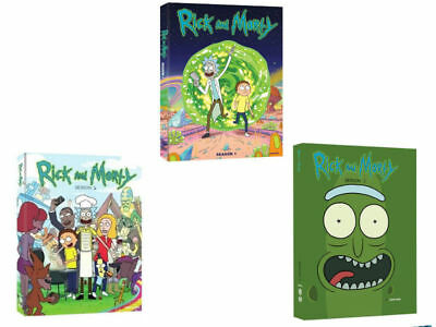Rick and Morty The Complete Series Season 1 - 2 - 3 NEW