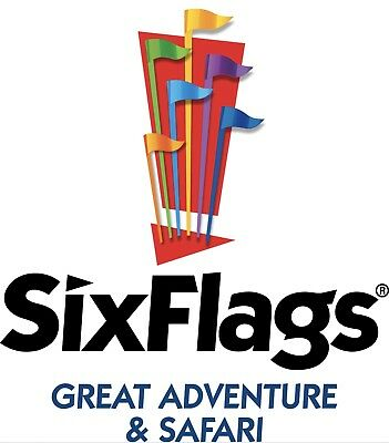 Six Flags GREAT ADVENTURE 30 TICKET DISCOUNT SAVE PROMO  9 PARKING SEND FAST