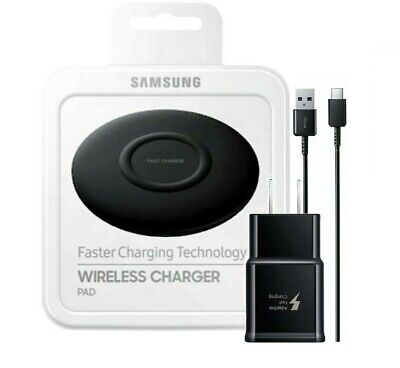 Samsung Wireless Charging Pad Slim Fast Charger for All Qi Devices USB Type C