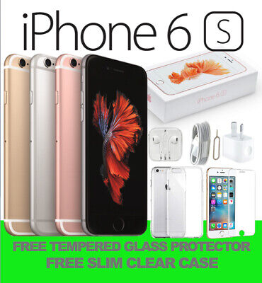 NEW IN APPLE BOX iPhone 6S 16GB 64GB 128GB UNLOCKED SMARTPHONE FRM MEL