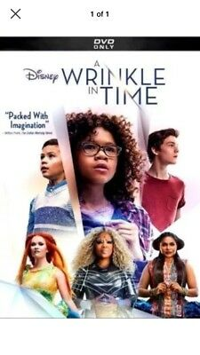 A Wrinkle in Time DVD2018NEWAdventure Family Sci-Fi - Fantasy
