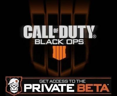 Call of Duty Black Ops 4 BETA Key - PCPS4Xbox One - Same Day Delivey
