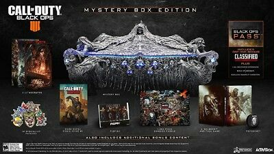 Call Of Duty Black Ops 4 - Mystery Collectors Box Edition - Xbox One