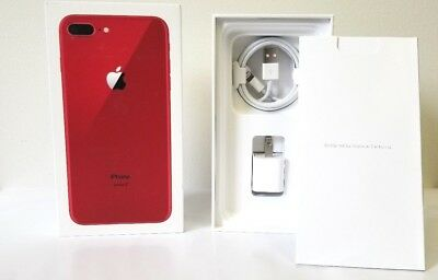 iPhone 8 Red Box Original Apple Retail Box with Accessories Option 8 8-