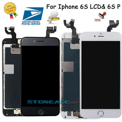 OEM For iPhone 6S 6S Plus LCD Screen Digitizer Replacement Assembly-Home Button