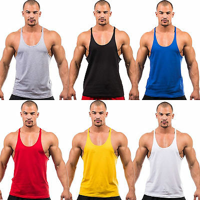 Bodybuilding Vest Tank Top Men Gym Stringer Fitness Sport Shirt Muscle Summer T