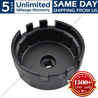 14 Flutes Oil Filter Wrench Cap Housing Tool for Toyota CorollaRav4Camry 4 cyl