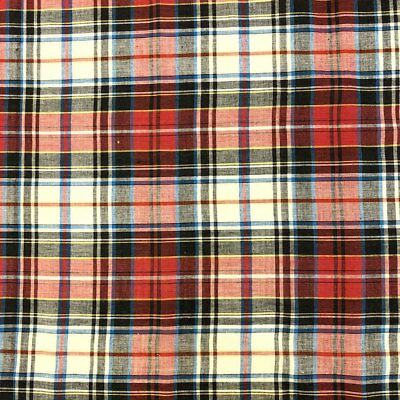Madras Plaid Fabric Style 15678 100 Cotton 4445 Wide Sold By The Yard