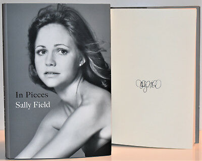 In Pieces SIGNED  AUTOGRAPHED by Sally Field  -COA Memoir  D