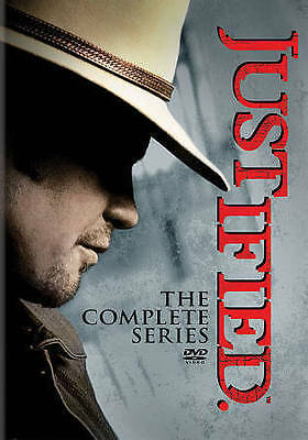 JUSTIFIED The Complete Series Seasons 1-6 NEW DVD Box Set 1 2 3 4 5 6